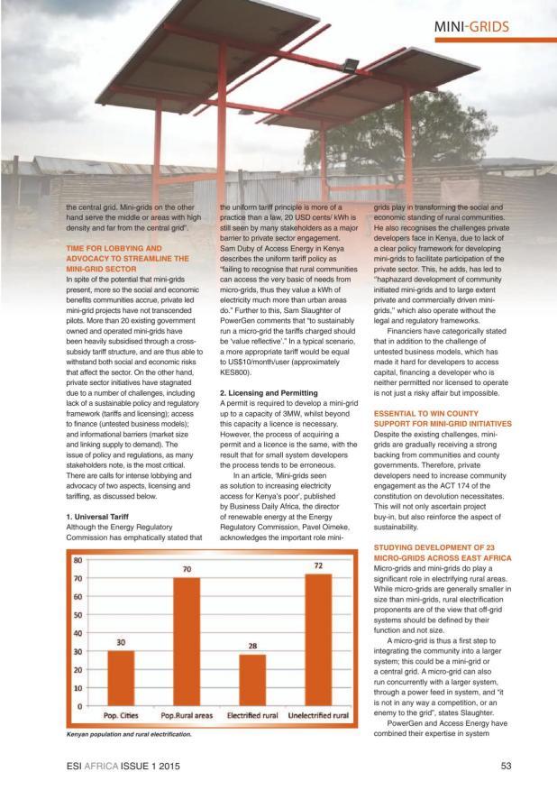 ESI Africa Issue 1 2015