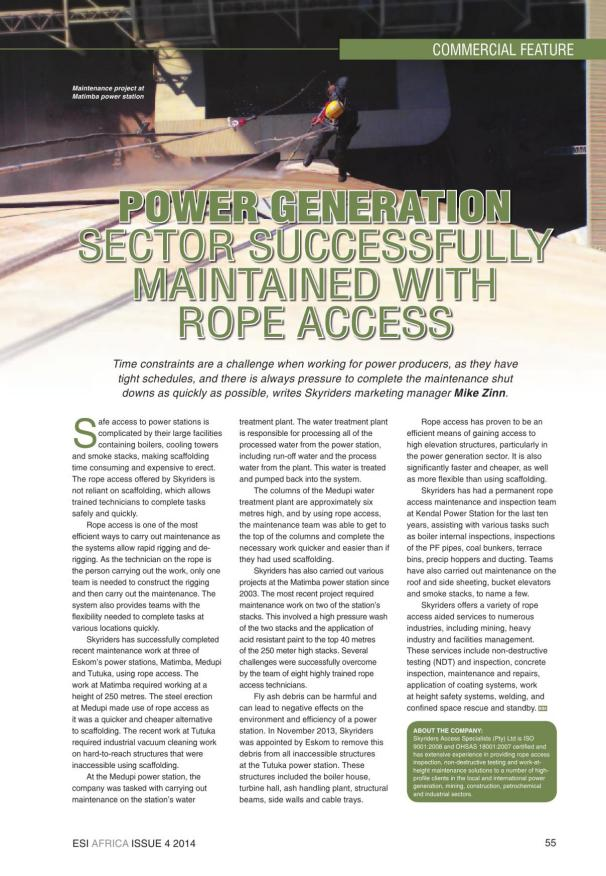ESI Africa Issue 4 2014