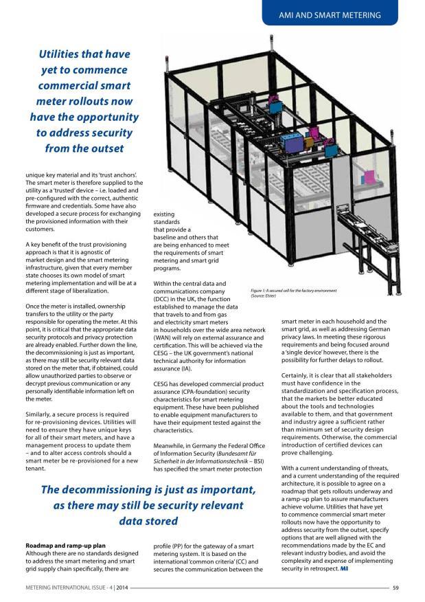 Metering & Smart Energy International Issue 4 2014