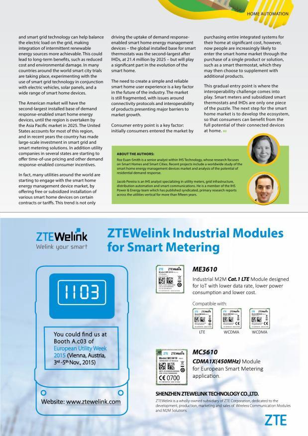 Metering International Issue 4 2015