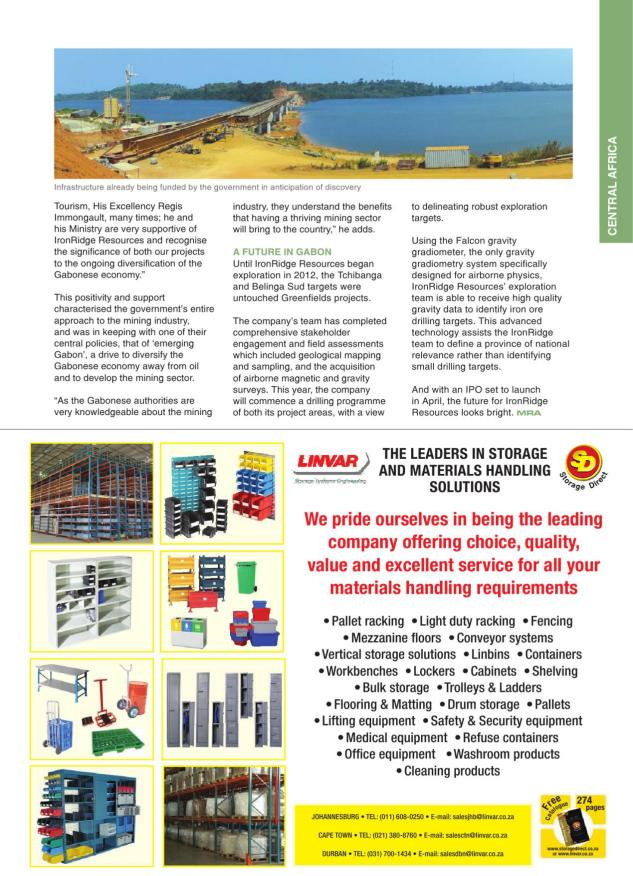 Mining Review Africa Issue 3 2014