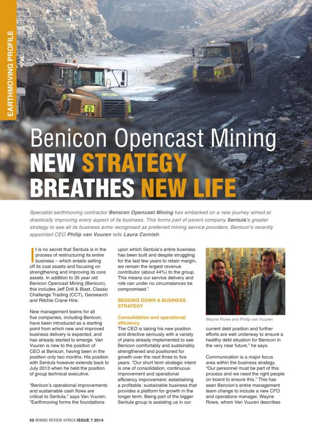 Mining Review Africa Issue 7 2014